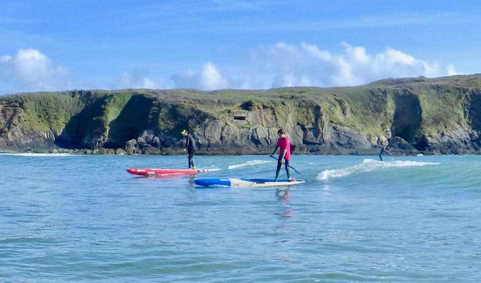 Week-end Down-wind niveau 2 Océan Paddle Camp